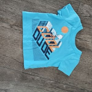 3/$12 Joe Fresh baby boy t-shirt size 3-6M